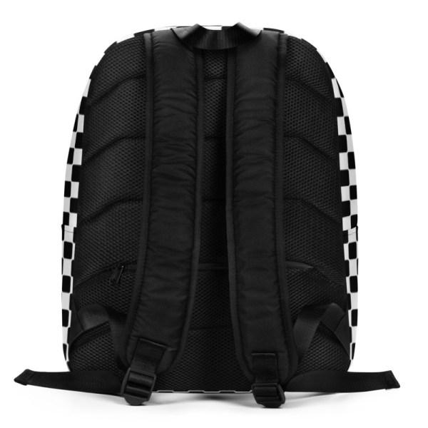 Antony Yorck • Rucksack • Caro Pattern mit Geheimfach • collection TOBUSY 3 antony yorck rucksack backpack caro patternschwarz weiss angebot 0008