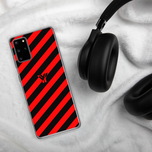antony yorck accessoire samsung phone cases stripes black and red collection obvious 023