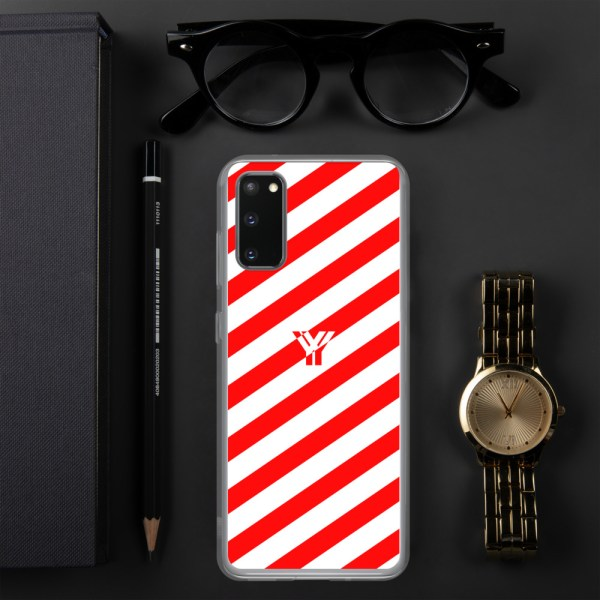 antony yorck accessoire samsung phone cases stripes white and red collection obvious 027