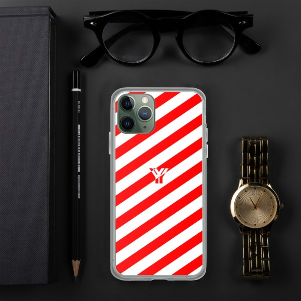 Antony Yorck • IPhone Hülle white and red • Collection OBVIOUS 3 mockup 76fc9a0a