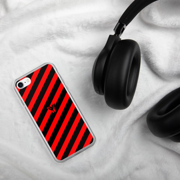 Antony Yorck • IPhone Hülle black and red • Collection OBVIOUS 19 mockup 7e47dc24