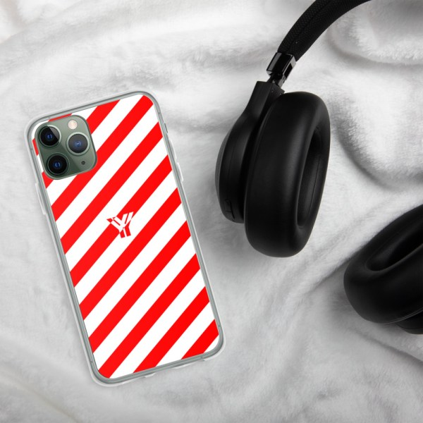Antony Yorck • IPhone Hülle white and red • Collection OBVIOUS 4 mockup 9d787534