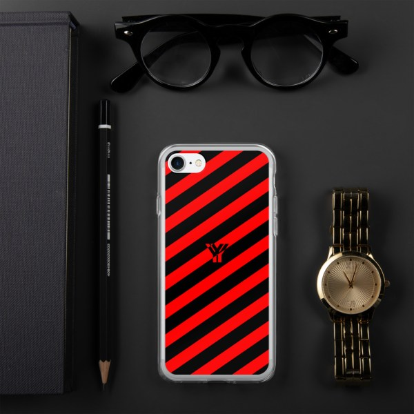 Antony Yorck • IPhone Hülle black and red • Collection OBVIOUS 18 mockup a7647504