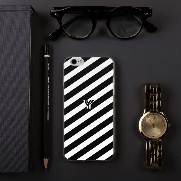 Antony Yorck • IPhone Hülle white and black • Collection OBVIOUS 12 mockup b229d2e2