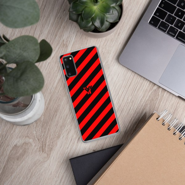 antony yorck accessoire samsung phone cases stripes black and red collection obvious 025