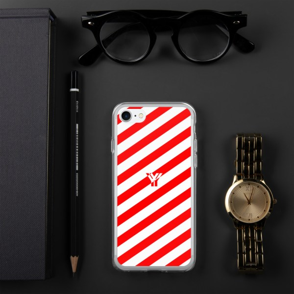 Antony Yorck • IPhone Hülle white and red • Collection OBVIOUS 18 mockup ec9104e2