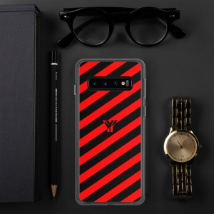 antony yorck accessoire samsung phone cases stripes black and red collection obvious 036