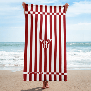 antony-yorck-handtuch-beach-towel-blanket-badetuch-strandtuch-stripes-cherry-red-white-0003