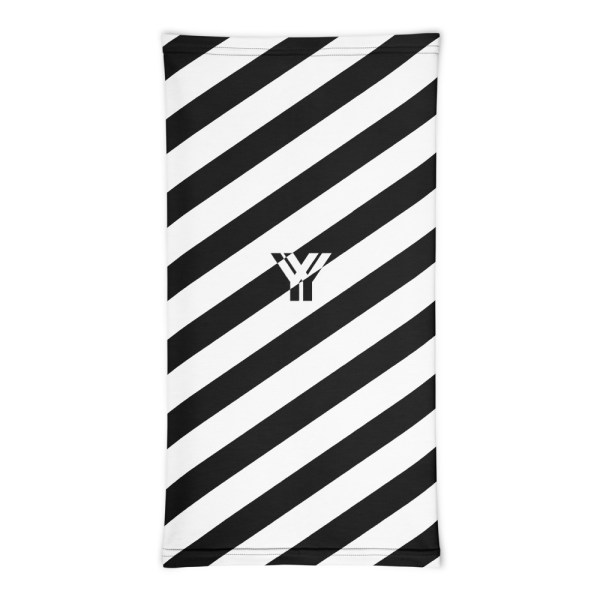 Antony Yorck • Multifunktionstuch schwarz weiß schräg gestreift • collection OBVIOUS 3 antony yorck multifunktionstuch schwarz weiss gestreift schlauchtuch 0033