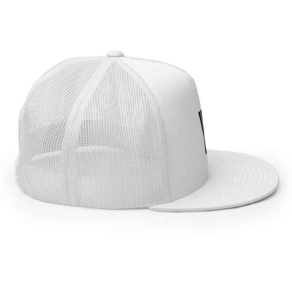 Baseball Cap YY Flat Bill Trucker Cap 5 mockup 1d71f459