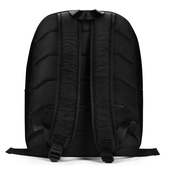 Rucksack Schrägstreifen schwarz weiß mit Laptopfach 3 rucksack backpack laptopfach pocket for laptop stripes black white 07