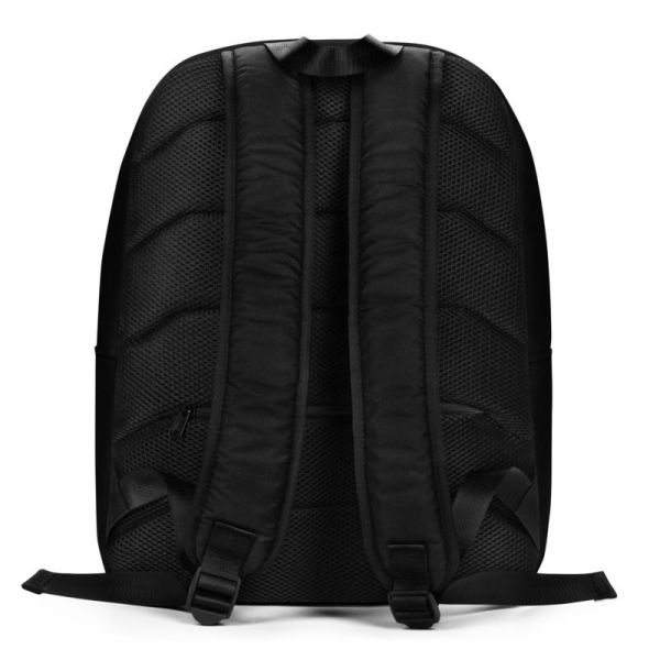 LAPTOPRUCKSACK STRIPES BLACK WHITE + GEHEIMFACH 3 rucksack backpack laptopfach pocket for laptop stripes black white 07