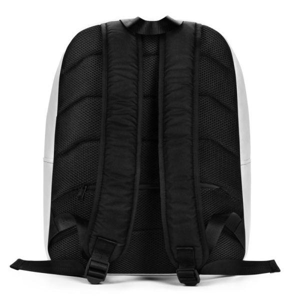 RUCKSACK STRIPES WHITE RED MIT LAPTOPFACH + GEHEIMFACH 3 rucksack backpack laptopfach pocket for laptop stripes white red 03
