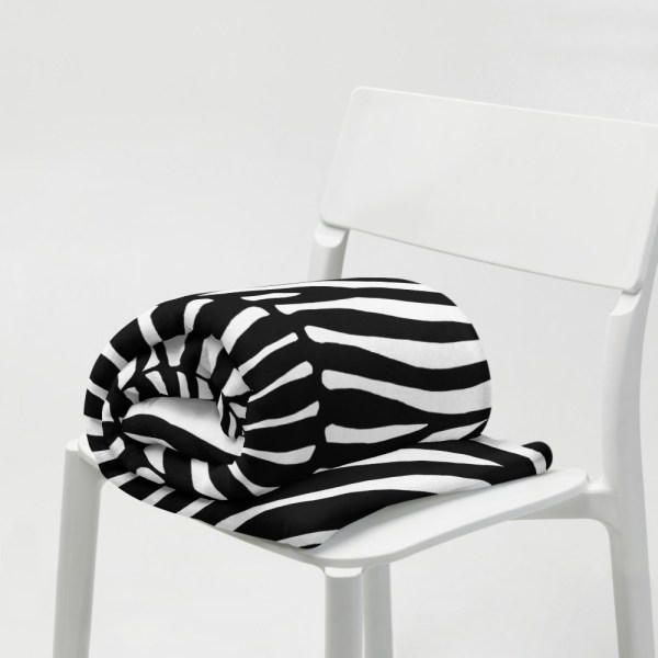 DECKE ZEBRA 7 sofa decke kuscheldecke zebra 01