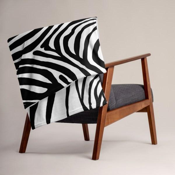 DECKE ZEBRA 5 sofa decke kuscheldecke zebra 05