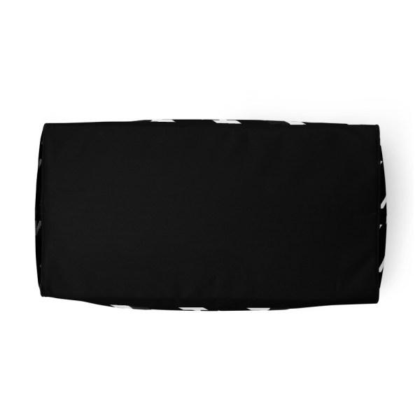 sporttasche trainingstasche houndstooth white black bottom