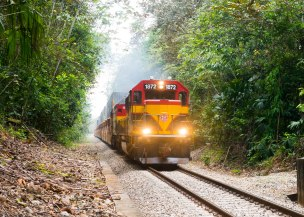 Panama Canal Railway Company Train