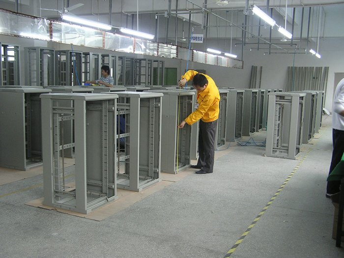 Server Rack Production Line