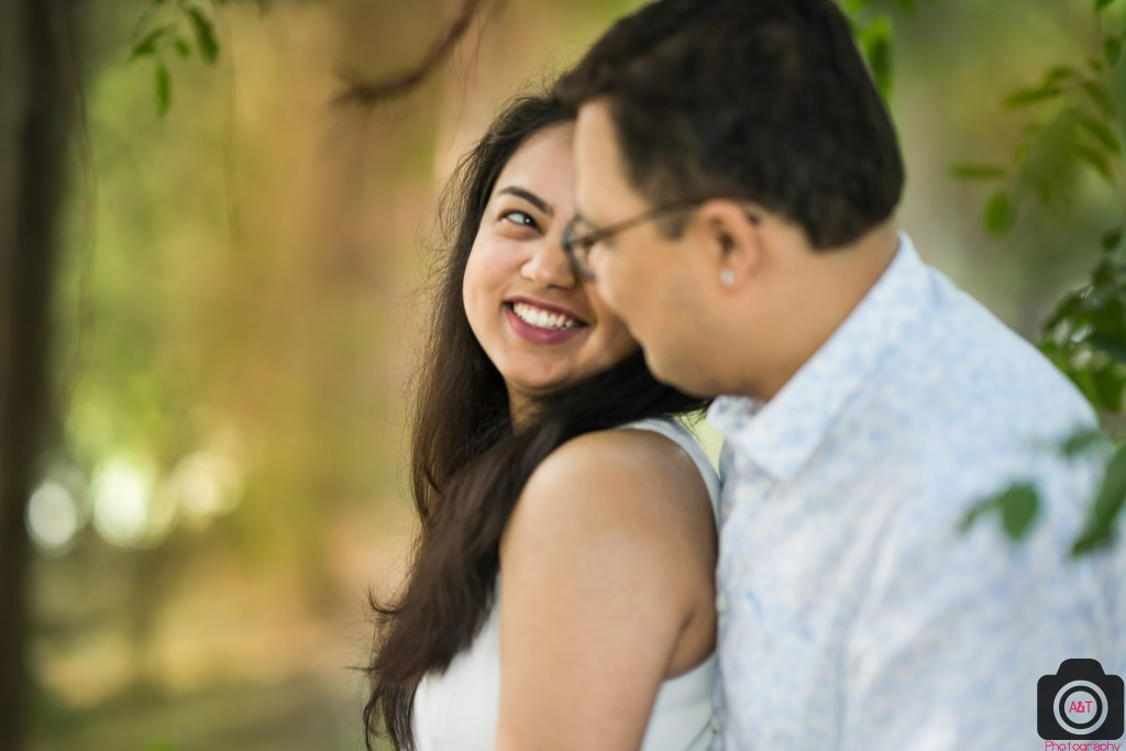 Candid Photography in Prewedding in Park at Pashan Lake | Pune | India