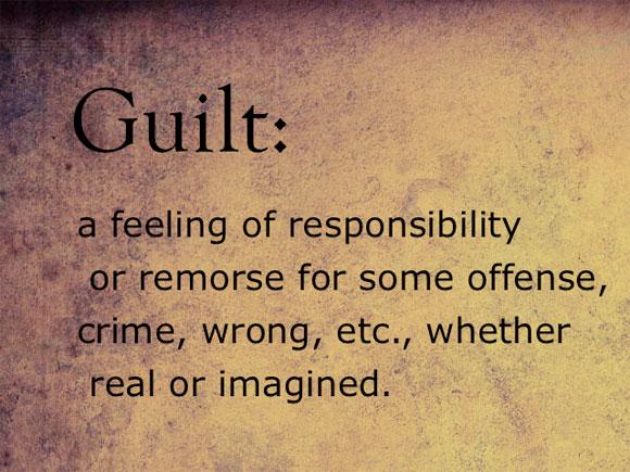 Image result for guilt
