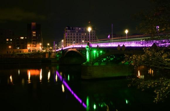 Le pont de l'Île Saint-Denis