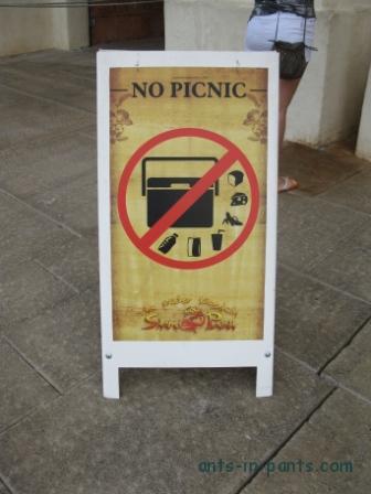 Tenerife. Siam Park Picnic