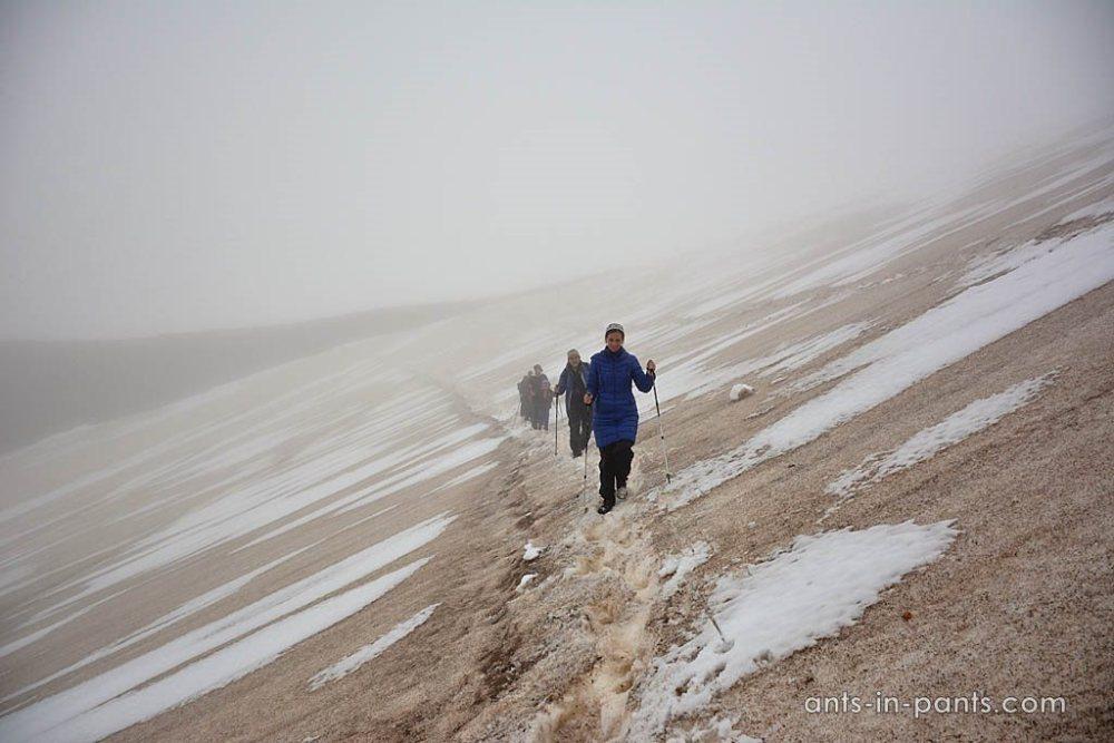 Траверс к Мутновскому вулкану