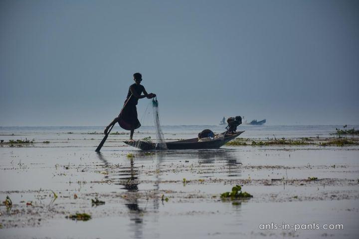 Рыбаки на Инле