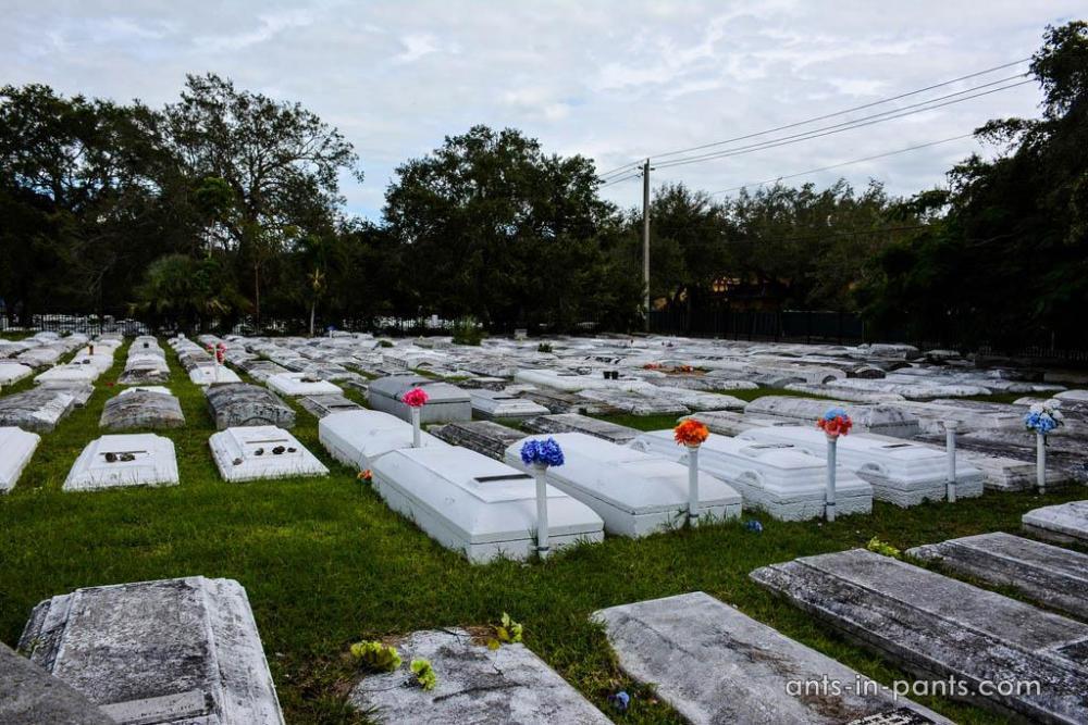 необычное кладбище