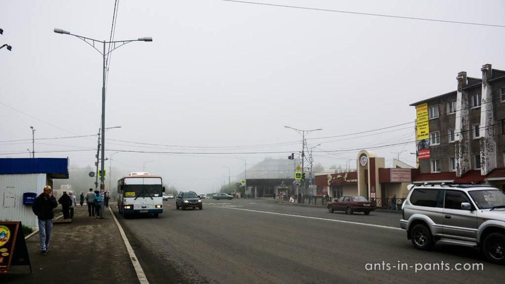 Petropavlovsk-Kamchatsky streets