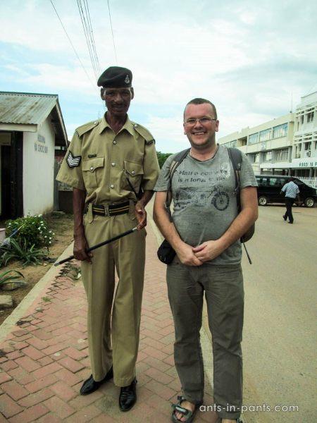 Police in Tanzania
