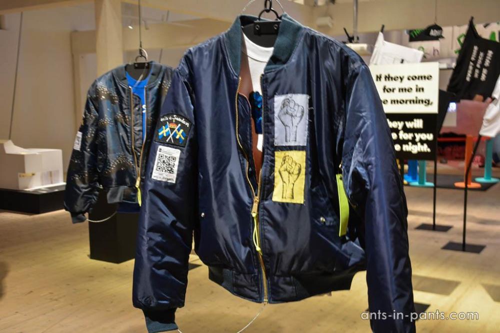 migrants bomber jacket