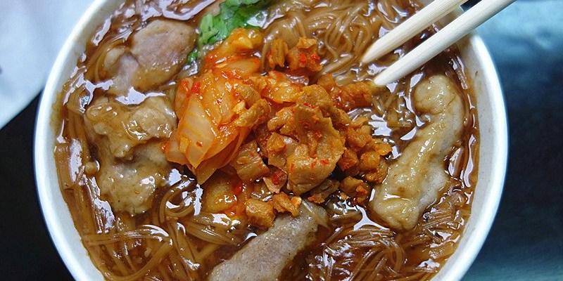 非比尋腸麻辣大腸麵線(復興店) | 台中小吃,火車站附近美食!柴魚湯底麵線滑順夠味。