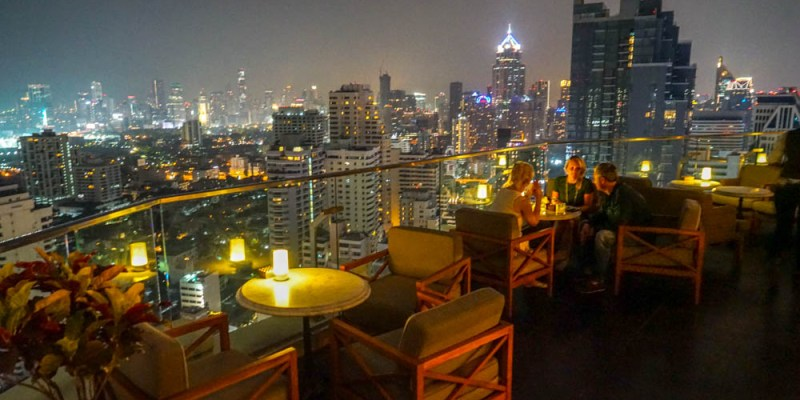 BELGA ROOFTOP BAR & BRASSERIE   曼谷特色比利時啤酒高空酒吧,用餐喝酒無服裝限制。索菲特素坤逸酒店Sofitel Bangkok Sukhumvit Hotel