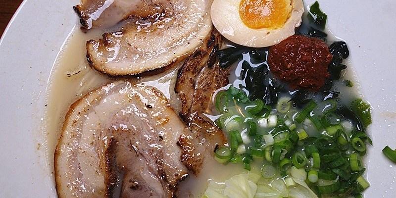 角屋拉麵 | 員林第一家投幣式拉麵!叉燒炙燒,口味清爽間帶點濃郁感。
