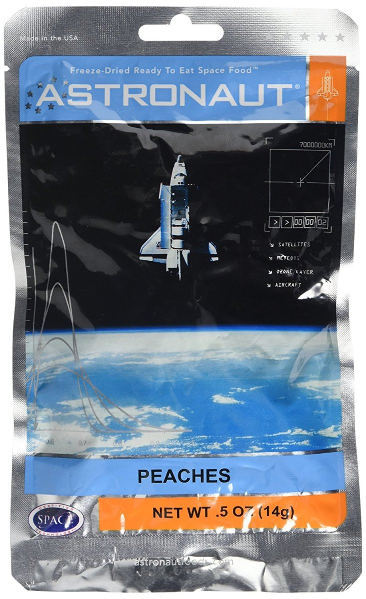 Astronaut Food Peaches