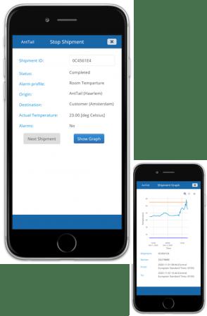 Receive shipment in AntTail App