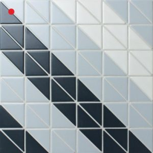 Shop   ANT TILE     Triangle Tiles   Mosiacs     Floors  Kitchen     TR2 BLM TSQ geometric design floor tiles