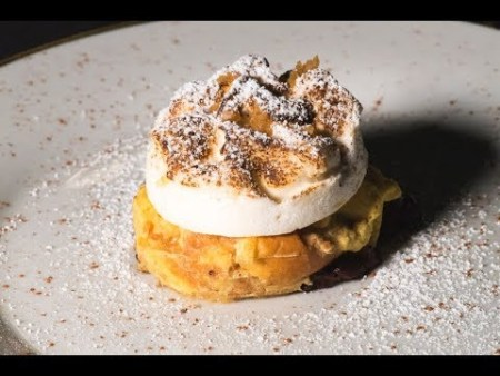 Chef's Challenge – Smores-style Bread Pudding with Meringue by Chef Chris Waltman