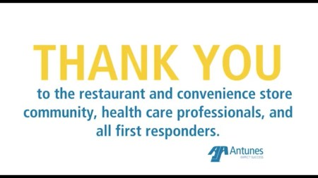 Thank You, Restaurants & Convenience Stores!