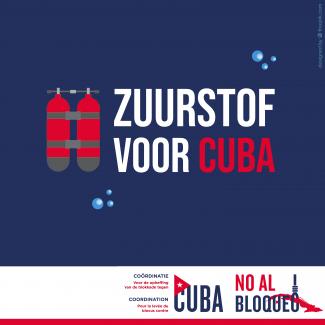 Campagne 'Zuurstof voor Cuba!'