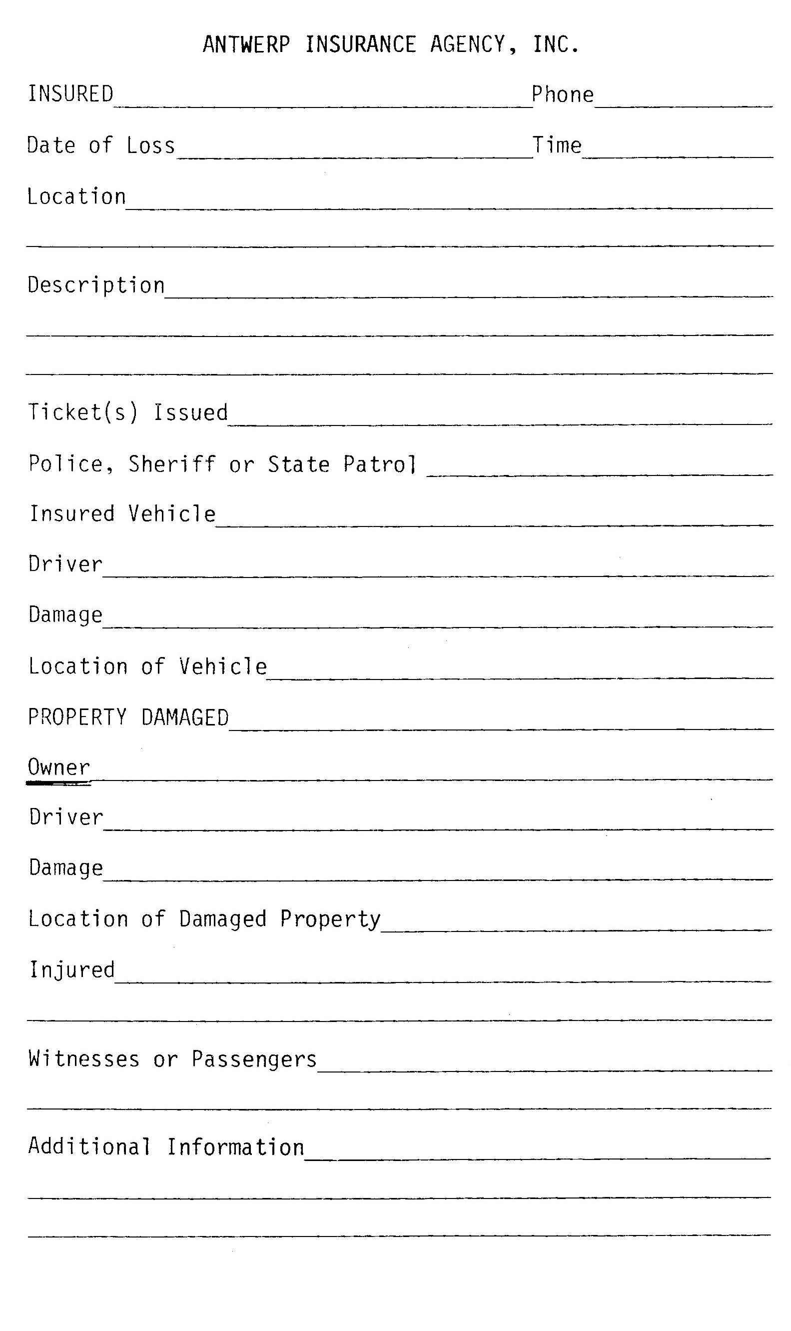 Doc7201024 General Liability Release Form Template Printable – Sample Liability Release Form