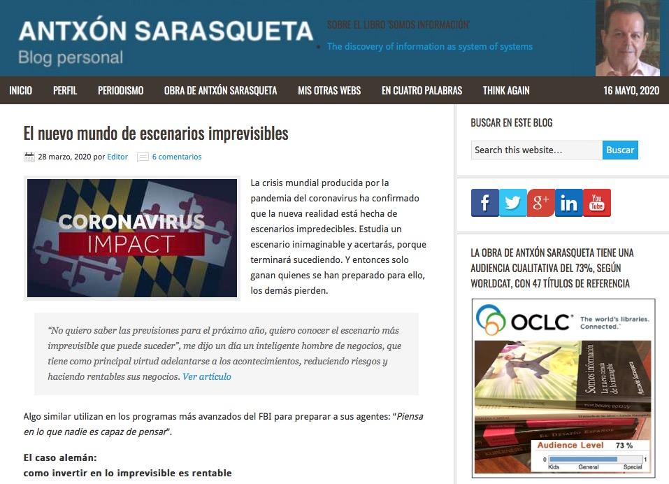 Imagen del blog personal de Antxón Sarasqueta
