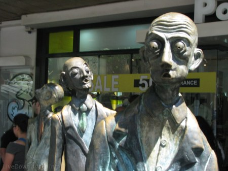 Melbourne City, rzeźby