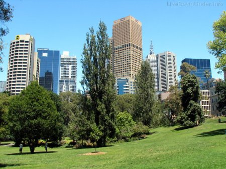 Melbourne, Treasury Gardens