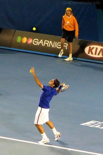 Roger Federer na Australian Open 2009