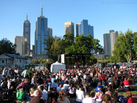 Sylwester w Australii: Melbourne