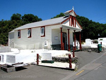 Kościół Maorysów, Rotorua, Nowa Zelandia