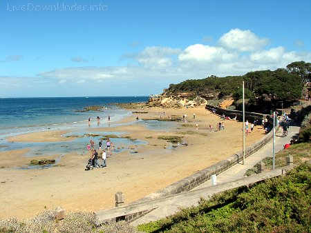 Plaża w Point Lonsdale