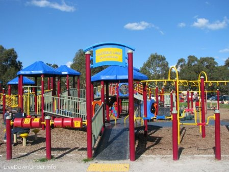 Plac zabaw w Lilydale, Australia